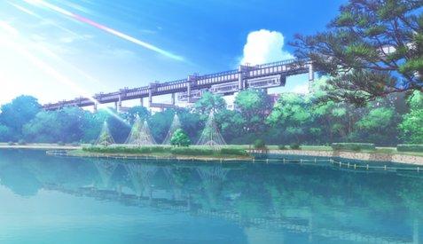 oreimo pilgrimage monorail