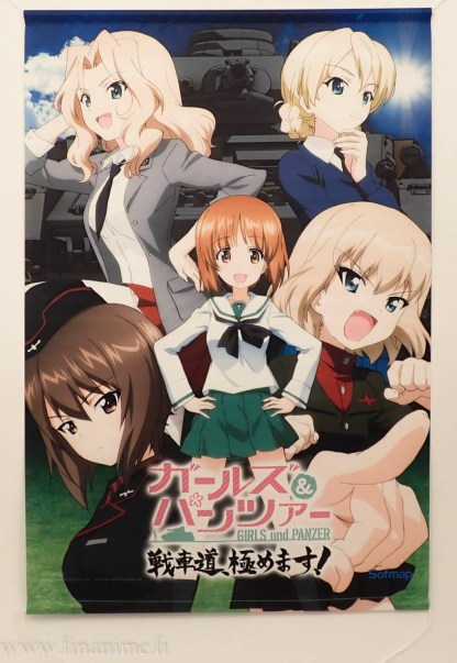 Girls und panzer wall scroll - Tank Road Extreme - Girls und Panzer: Dream Tank Match