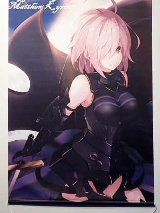 Fate/Grand Order - Shielder - wall scroll