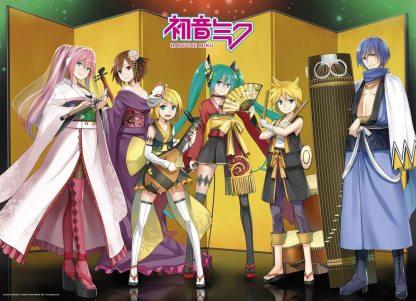 Close Up Hatsune Miku Poster Kuroshishi Unit puzzle