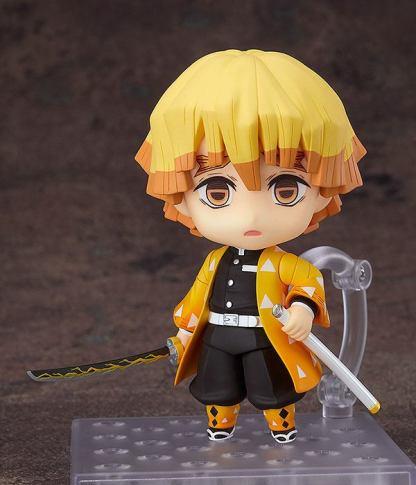 Nendoroid Demon Slayer Kimetsu no Yaiba Zenitsu Agatsuma - Good Smile Company Kamado Nendoroid Demon Slayer Kimetsu no Yaiba