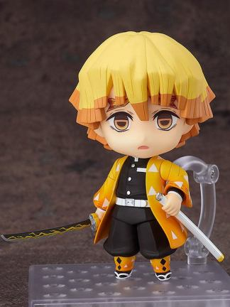 Nendoroid Demon Slayer Kimetsu no Yaiba Zenitsu Agatsuma - Good Smile Company Kamado Nendoroid Demon Slayer Kimetsu no Yaiba