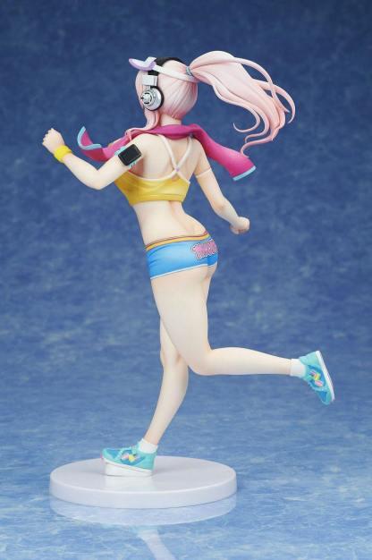 Super Sonico figuuri jogging ver