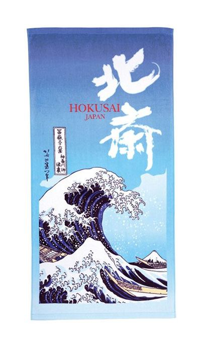 Ukyo-e Pyyhe - The Great Wave of Kanagawa