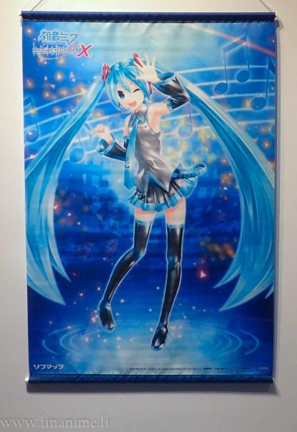 Hatsune Miku Wall Scroll - Project Diva X
