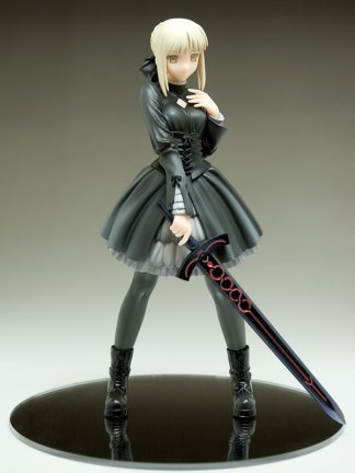 Fate/Stay Night - Saber Alter Black Dress ver figuuri