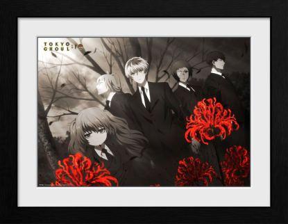 Tokyo Ghoul - Red Flowers Kehystetty Juliste