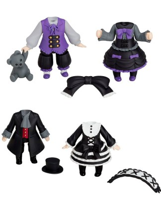 Nendoroid More 4-pack - Dress Up Gothic Lolita Nendoroid Lisäosat