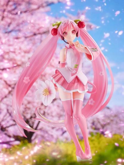 Hatsune Miku - Sakura Miku 2021 ver figuuri