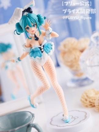 Hatsune Miku Vocaloid BiCute White Rabbit ver figuuri