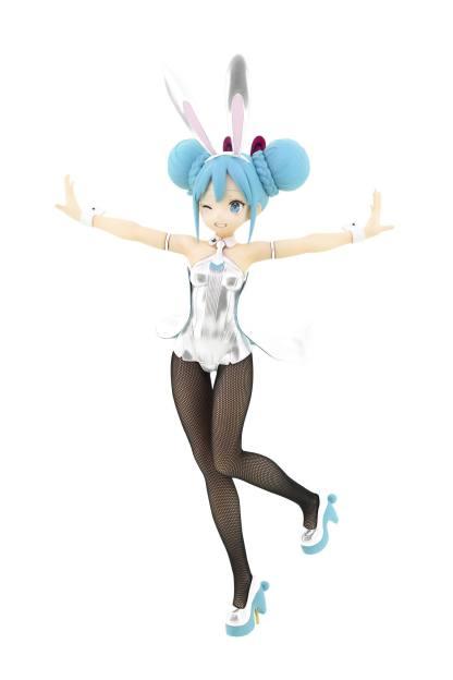 Hatsune Miku Vocaloid BiCute White ver figuuri