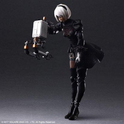 Nier:Automata - 2B Play Arts Kai figuuri, DX Edition