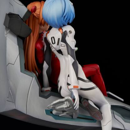 Evangelion - Rei & Asuka Twinmore Object figuuri