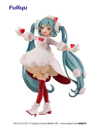Hatsune Miku Strawberry Short figuuri, Vocaloid Sweet Tea Time