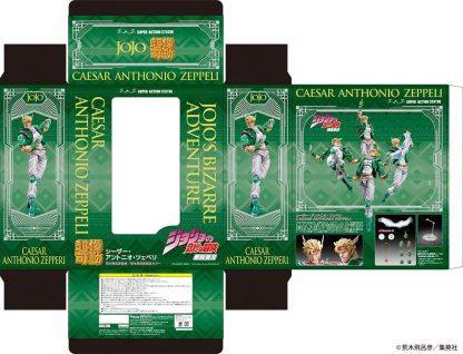 JoJo's Bizarre Adventure – Caesar Anthonio Zeppeli Super Action Figure