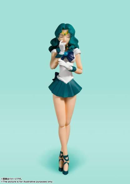 Sailor Moon - Sailor Neptune S.H. Figuarts figuuri Uusi Arviolta 15 cm korkea Valmistaja Bandai Tamashii Nations