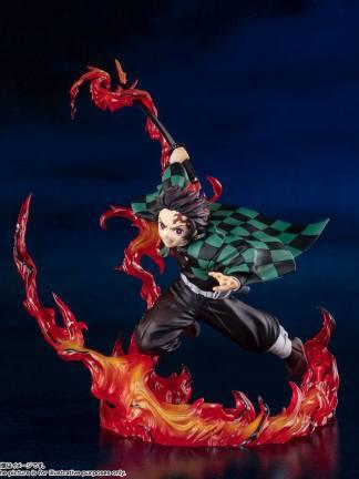 Kimetsu no Yaiba: Demon Slayer - Tanjiro Figuarts ZERO figuuri, Total Concentration Breathing ver