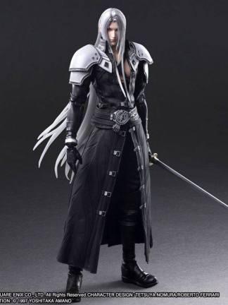 Final Fantasy VII Remake - Sephiroth Play Arts Kai figuuri