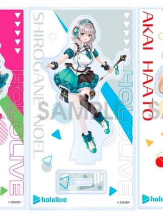 Hololive - Ookami Mio, Shirogane Noel, Akai Haato akryylihahmosetti (set B)