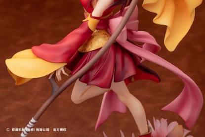 The Legend of Sword and Fairy - Long Kui figuuri, The Crimson Guardian Princess ver