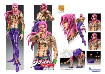 JoJo's Bizarre Adventure – Diavolo Super Action Figure figuuri