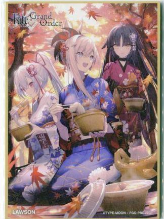 Fate/Grand Order Lawson Shikishi