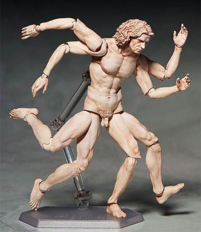The Table Museum - Vitruvian Man Figma [SP-075]
