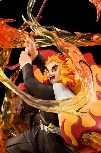 Kimetsu no Yaiba: Demon Slayer - Kyojuro Rengoku DX ver figuuri