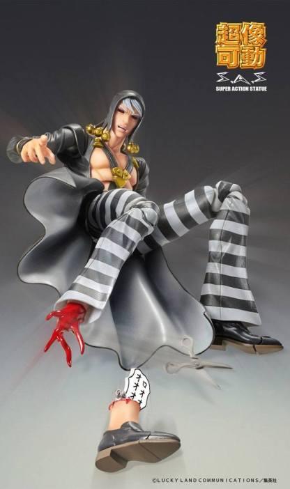 JoJo's Bizarre Adventure - Risotto Nero Super Action Figure figuuri