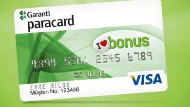 Garanti Kredi Kartı Yapılandırma