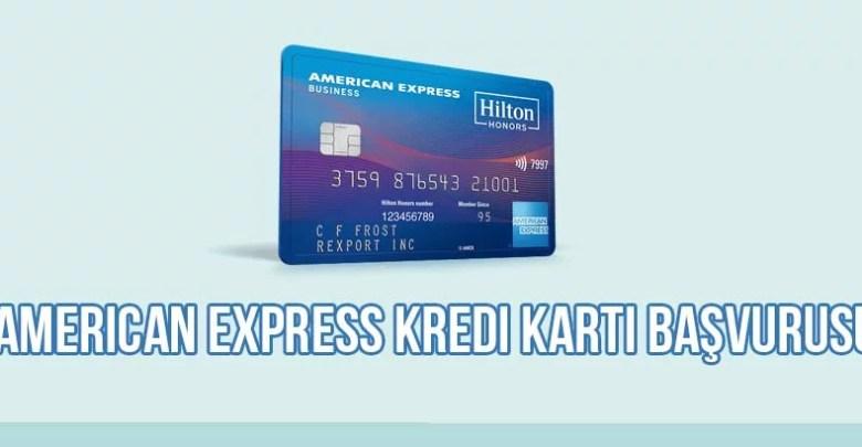American Express Kredi Kartı Başvurusu