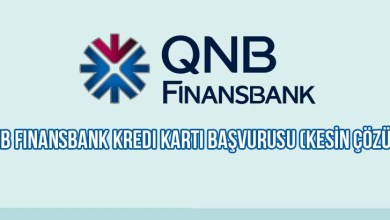 QNB Finansbank Kredi Kartı Başvurusu