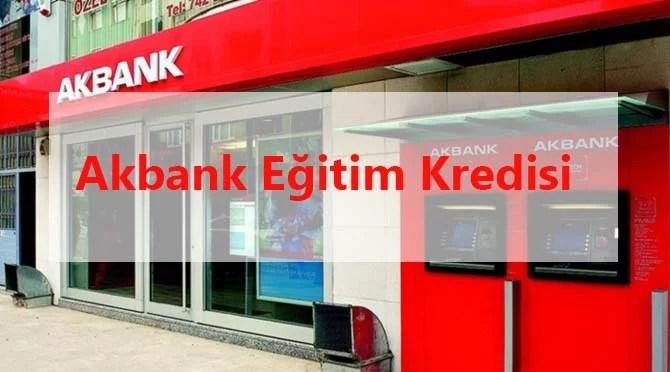 Akbank Eğitim Kredisi