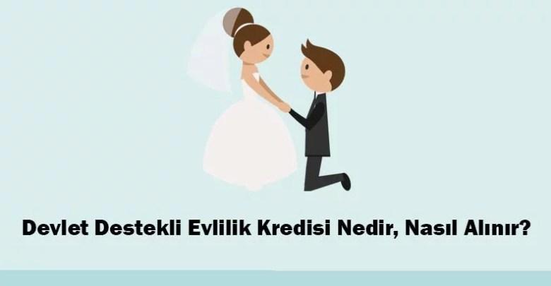 Devlet Destekli Evlilik Kredisi Nedir