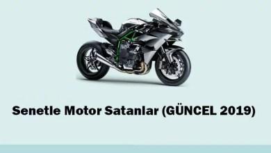 Senetle Motor Satanlar