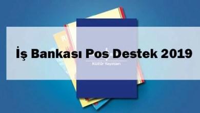 İş Bankası Pos Destek