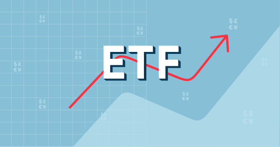 Imagen ETF con flecha ascendente