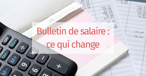 Changements sur les bulletins de paye en 2019