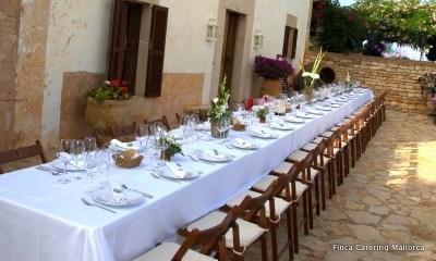 Finca Catering Mallorca Hochzeiten & Events