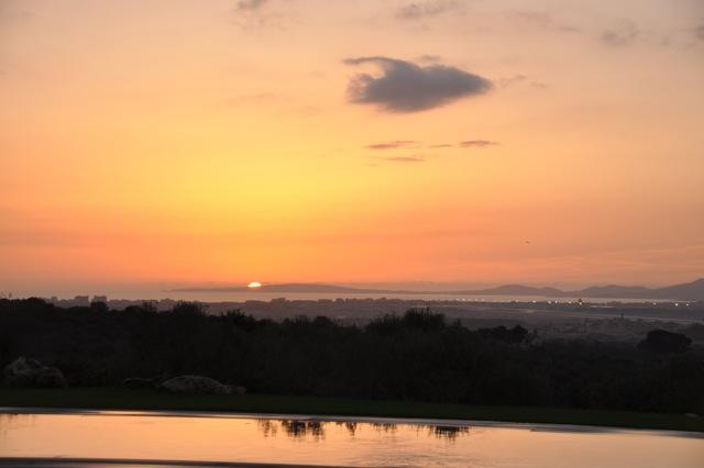 puesta sol finca - Finca Marina Son Gual