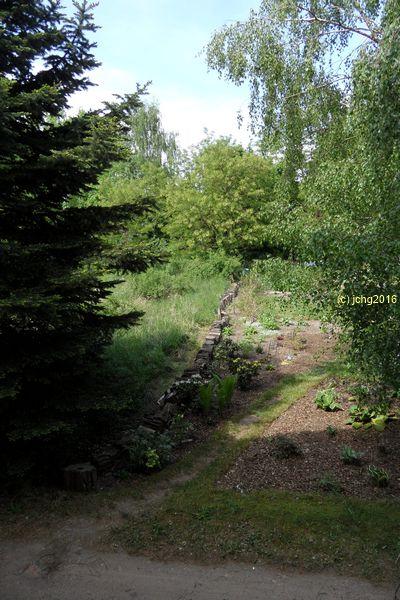 Eingang in den Garten am 22.05.2016