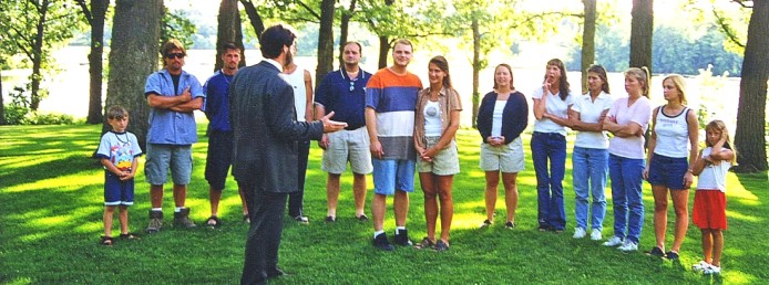wedding rehearsal with Justice of the Peace as Officiant