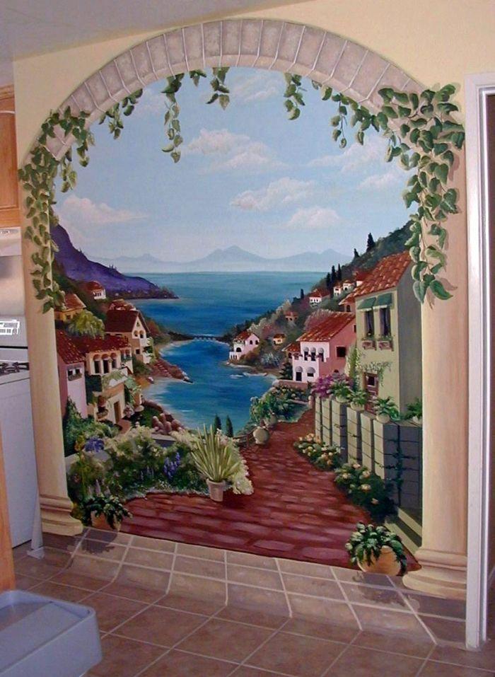 Trompe LOeil Mural Photo Album By Amber Dawn