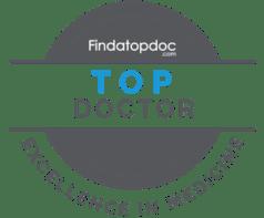 Findatopdoc Top Doctor Badge