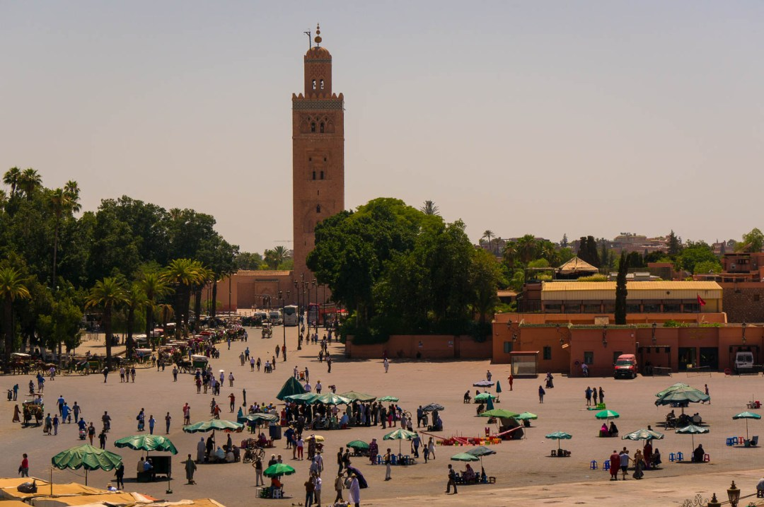 Djemma el Fna Square in Marrakech.