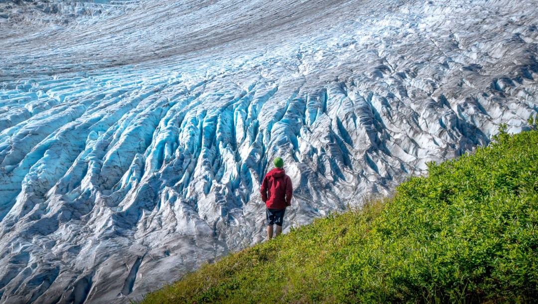 POW: The Blue Ice of Exit Glacier