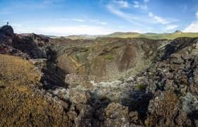 POW: Gullborgarhellar Volcano on Highway 55 in Iceland