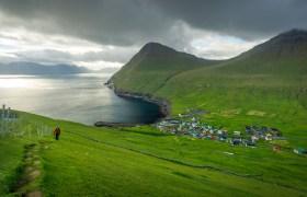 POW: Above Gjogv in the Faroe Islands