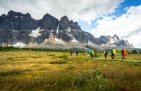POW: Hiking in Tonquin Valley