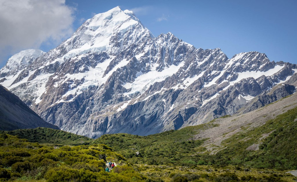 Hooker Valley Track South Island New Zealand